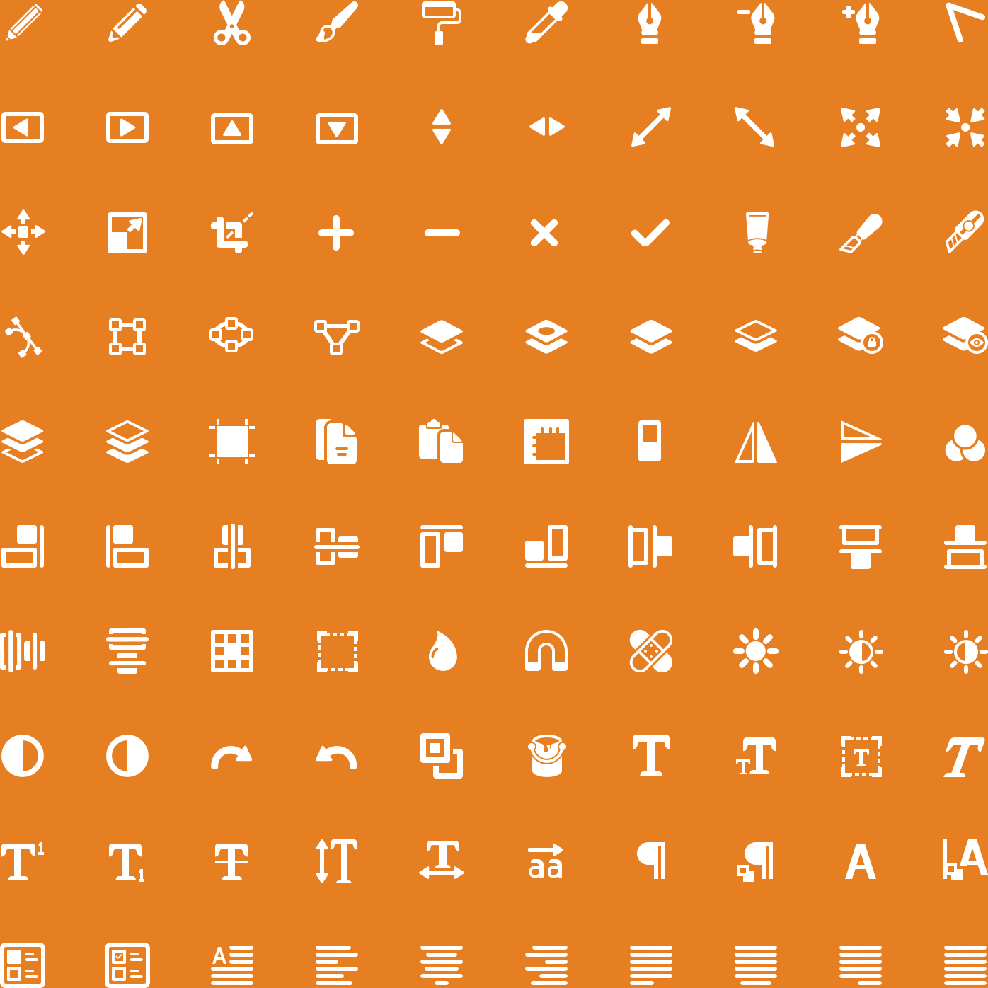 Editing Glyph Icons