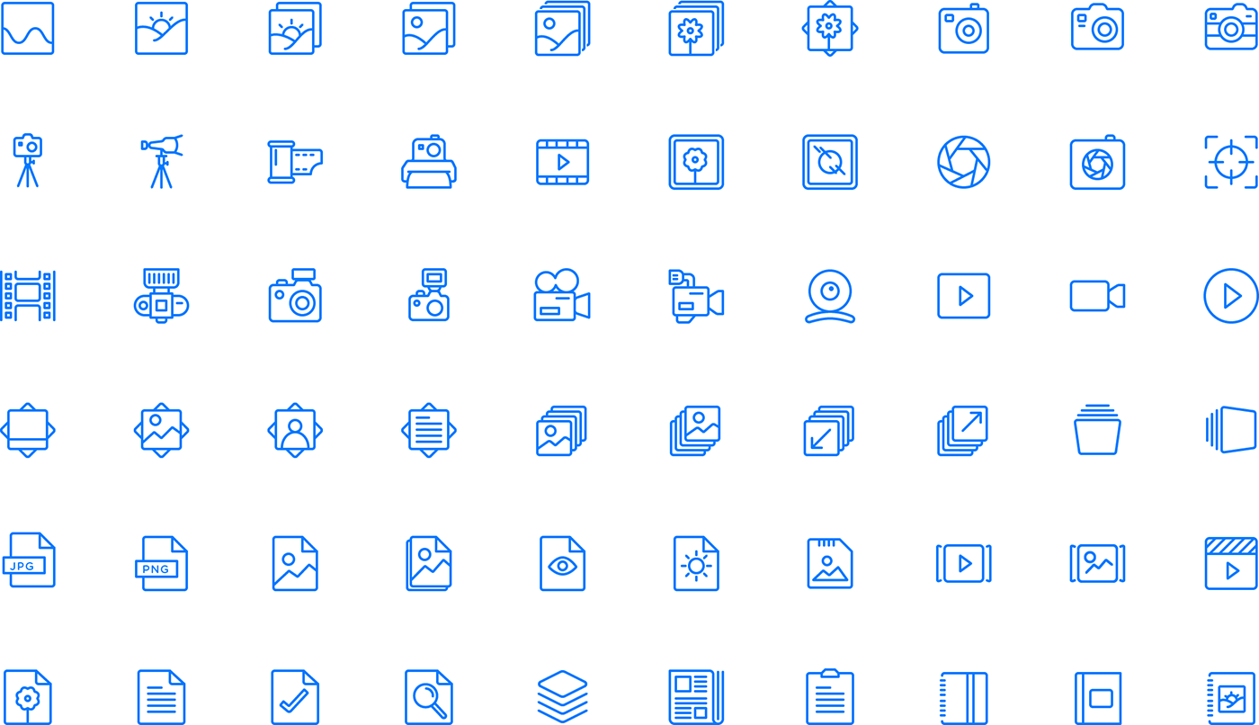 Squid Ink Professional Web Icons » 2,000 Line Icons